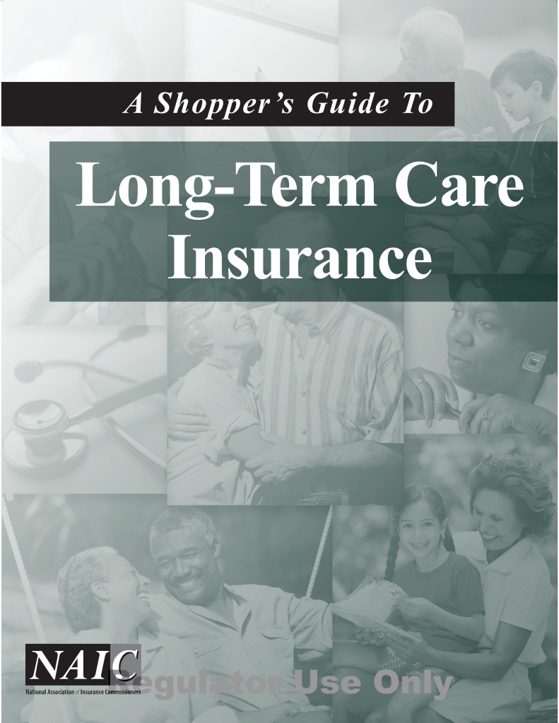 NAIC Long-Term Care Insurance Shopper's Guide PIX