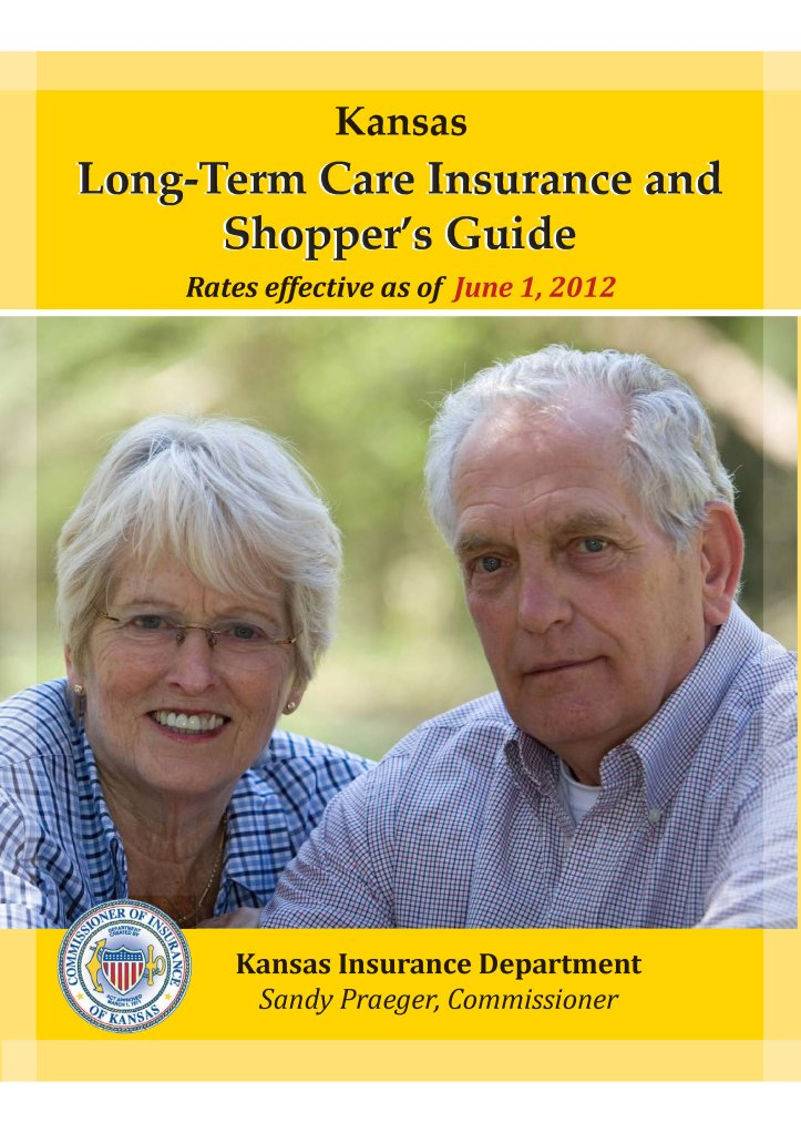 Kansas Long-Term Care Insurance Shoppers Guide
