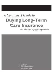 Washington Long-Term Care Consumer's Guide PIX